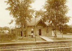 d& H and A&S railroad station delmar  albany ny  early 1900s (albany group archive) Tags: as railroad station delmar albany ny early 1900s dh oldalbany history old vintage photos historic historical