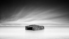 December 25 (thomas bach nielsen) Tags: longexposure blackandwhite seascape beach strand denmark bunker ww2 dnemark danmark sby nd110 nikond80 bwnd110 tokina1116mmf28 thomasbachnielsen niksilverefexpro2