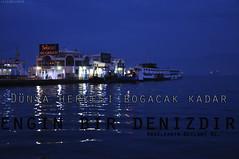 Dünyα ~ (gLySuNfLoWeR) Tags: islam deniz izmir iman gece dünya müslüman geylani