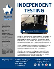 Soft Body Armor Flexibility Testing (HP White Laboratory) Tags: test soft flexibility bodyarmor