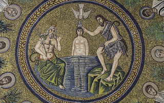 Baptism of Jesus (Arian Baptistery)