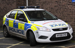 Hampshire Police Workshop Spare Targeted Patrol Team Ford Focus Response Vehicle 4466 - HY08 EYO (IOW 999 Pics) Tags: ford team focus police hampshire workshop vehicle spare patrol response targeted 4466 hy08eyo