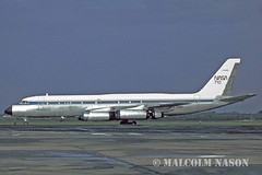 CONVAIR 990 N710NA NASA (shanairpic) Tags: nasa shannon coronado jetairliner convair990 cv990 n710na