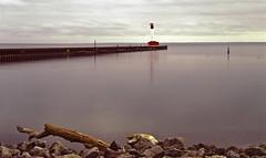 Oakville Lighthouse (Blia100) Tags: film agfa provia find largeformat calumet filmphotography duoscan filmisnotdead schneider210mmf56 agfaduoscanf40 blia101