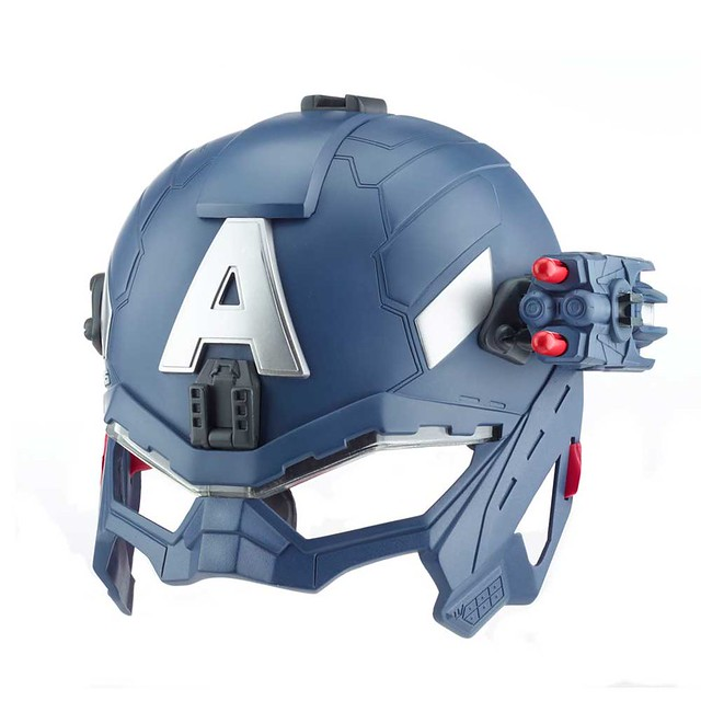 Hasbro 孩之寶玩具 美國隊長2 超級士兵聲光頭盔