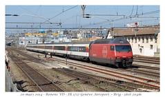 Re 460 100-1 - Renens VD (CC72080) Tags: train sbb locomotive renens cff re460 interrégio