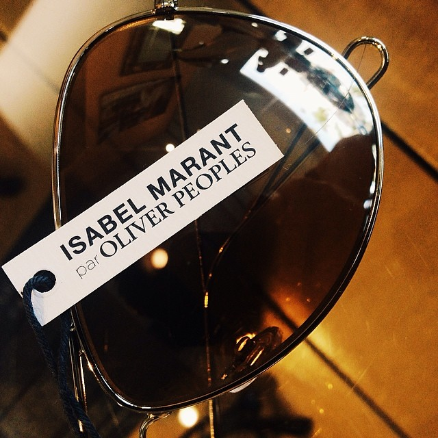 8f73157681  IsabelMarant par  OliverPeoples (Dan Deutsch Optical Outlook) Tags  square  squareformat iphoneography