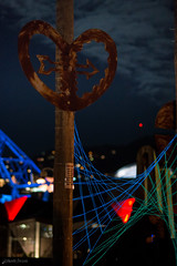 Hearts and Strings (-Nicole-) Tags: winter newzealand night prime nikon wellington fullframe nikkor f18 fx lightweight d600 electroluminescentwire nikkor85mmf18d nikond600 iso2500 nikkor85mmf18daf sec corneliaerdmann lux2013 wgtnlux teamarama wellingtonlux2013 wgtnlux2013