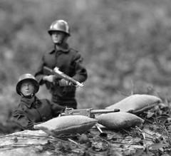 GI JOE SOLDIER (Polish Madman) Tags: blue man 30 gijoe soldier marine war action anniversary wwii helmet joe korea ii years ww combat 50 channel timeless gi calibre hasbro actionman caliber palitoy