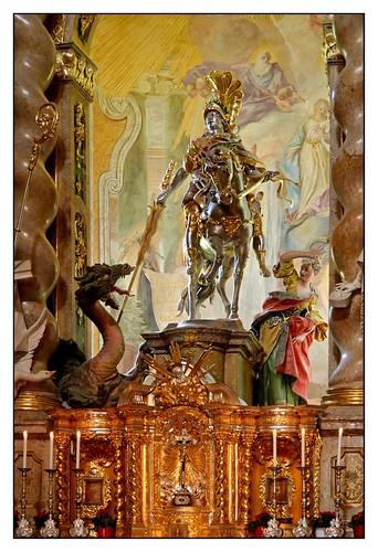 13.06.30.16.31.39 Kloster Weltenburg, Klosterkirche, Egid Quirin Asam und Cosmas Damian Asam
