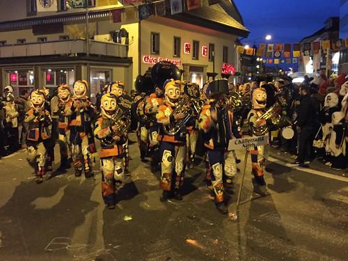 Fasnacht Fasching Carnival in Hochdorf Luzern Switzerland