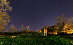 The Old Beetling Mill (MNM Photography 2014) Tags: nightphotography night nightsky nightscape nightsbestimages nightshow stars star starrysky starburst planet venus astrophotography astonomy astro beetlingmill remains old ruins roevalley roevalleycountrypark trees limavady thelimavadyexploreseedosculpturetrail niea northernirelandenviromentagency countyderry northernireland canon canon6d tamron tamronsp1530mmf28divcusd