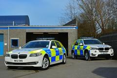 Old & New (S11 AUN) Tags: durham constabulary bmw 530d touring anpr police traffic car rpu roads policing unit responsevehicle 999 emergency policeinterceptors nk12ewu x5 armed response arv vehicle lj66exv