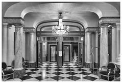 Millennium Hotel Paris Opera (Kam Sanghera) Tags: 12boulevardhaussmann 75009paris france millennium hotel paris opera 12 boulevard haussmann 75009 canon 5d mark iii ef l 24105 mm f4 twenties 1920s building lifts lobbey staircase