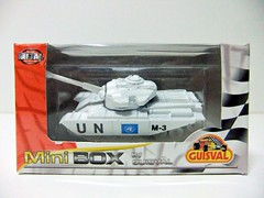 TANQUE CENTURION MK III (UN) - GUISVAL (RMJ68) Tags: tanque tank centurion mkiii m3 un onu united nations naciones unidas guisval minibox mini box diecast coches cars juguete toy militar ejercito military army 164 scale