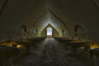 Ice chapel