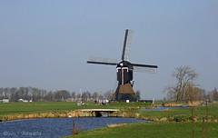 Oude Weteringmolen - Streefkerk (♥ Annieta ) Tags: annieta maart 2017 sony a6000 nederland netherlands natuur nature alblasserwaard molen mill windmill allrightsreserved usingthispicturewithoutpermissionisillegal