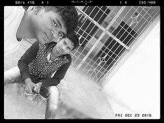 Chaitan with Bikash pic of 2016 (Chaitan Deep) Tags: hi am chaitan deep smartboy mandel gaon frnds calling chandu aamirianmad