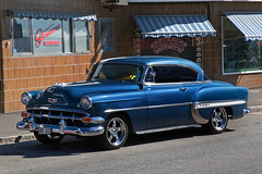 Chevrolet BelAir 1954 (Burminordlicht) Tags: chevy chevrolet chevroletbelair 1954 uscar classiccar oldtimer sweden schweden veteranfordon veteranbil veteranbilar veteranbiler americanoldtimercars oldtimercars