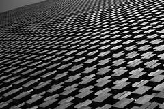 Ziggurat (mickeynp) Tags: brick ziggurat abstract black white tate modern pyramid switch house