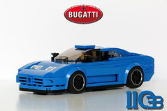 1-2 Left Side 3_4 Front (Marc 'Edge' R.unde) Tags: bugatti eb 110 lego speed chamions 7wide