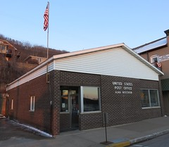 Post Office 54610 (Alma, Wisconsin) (courthouselover) Tags: wisconsin wi postoffices buffalocounty alma swisscommunitiesintheunitedstates