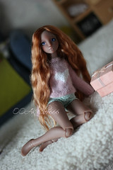 IMG_5696 (Cleo6666) Tags: lana lillycat cerisedolls marron glacé bjd doll chibbi