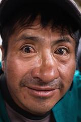 Slighty Drunk, Feria Libre (klauslang99) Tags: streetphotography klauslang person portrait cuenca ecuador drunk face