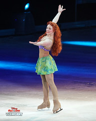 Ariel - Little Mermaid (DDB Photography) Tags: disney disneyonice ice waltdisney disneyphoto disneypictures disneycharacters dreambig mickey mickeymouse minnie minniemouse mouse feld feldentertainment donaldduck duck goofy figure skate figureskate show iceshow prince princess princesses castle animation disneymovie movie animatedmovie fairytale story rogerscentre rogers skydome toronto ontario canada ariel princeeric littlemermaid flounder sabastien