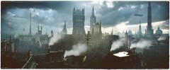 London 1886 (~Scimo~) Tags: 1886 ps4 order screenshot london steampunk city skyline airship