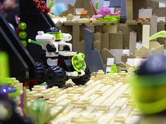Blacktron (Brett-Tron) Tags: blacktron monorail moc lego alien flower landscape spaceflowers spaceweeds spacelandscape alienworld spaceplants mtron battle
