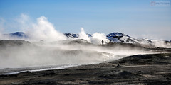 Námafjall, Lake Myvatn (Nino H) Tags: iceland islande námafjall lake myvatn volcanic mountain geothermal