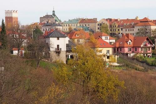 Sandomierz od Bramy Opawskiej do Synagogi ze Wzgórza Świętopawelskiego