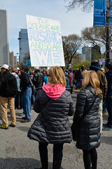 The Ocean's Are Rising (Lake Effect) Tags: 2017 april22 chicago earthday sciencemarch ocean rising warming global sign