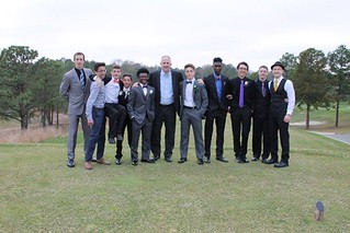 Mr. Storr and the 9th & 10th boys