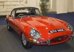 1965 Jaguar E-Type (Pete_Sy) Tags: jaguar 1965 etype e typesports londonclassiccarshow 2017 bth 140c red convertible