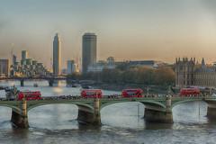 LONDON 021F (BAUWENS RENE) Tags: london uk d750 nikon hdr theems londoneye westminsterbridge sundown