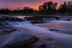 Broken Bridge (Nathalie Le Bris) Tags: eau longueexposition agua longexposure streamwater larga exposición