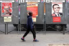 Elections 75-2017 ( serie walkers ) (Kairos !) Tags: walker walkers walk walking elections city urban street streetwalk streetview streetphotography streetphotographer fujifilm fujixt10
