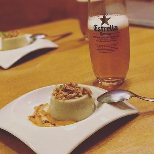 Pannacota de carxofa #tarracotapes #tarragona #foodporn