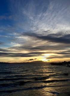 April Sunset and Mt. Tamalpais