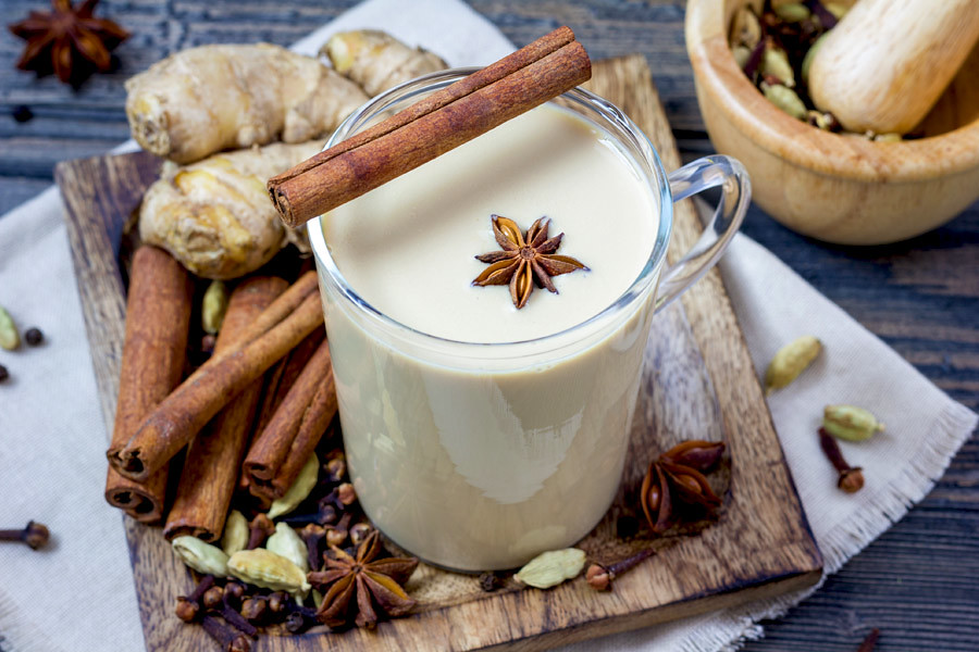 Masala Chai is the most common type of tea consumed in India