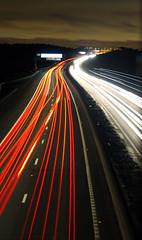 Traffics_M8 (pgdesign94) Tags: longexposure slowshutter speed night shot flickr photo canon 1200d road dual carriageway carheadlights motion blur speedlight trailslight streaks nightshot streets roads freeway motorway headlights brakelights