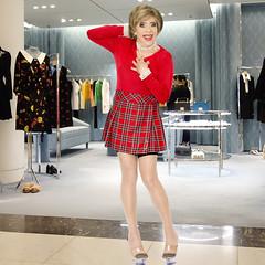 home14729 (Ann Drogyny) Tags: shoes legs heels crossdress crossdresser crossdressing cd tv tg ts transvestite transgender transsexual tranny tgirl glamour pinup mature cute sexy stockings nylons suspenders garters