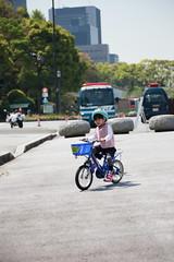 2017-04-30-10h23m47 (LittleBunny Chiu) Tags: 皇居外苑 腳踏車 騎腳踏車 日本 東京 日本旅行 去日本旅行 東京台場 台場 人工沙灘 御台場海濱公園