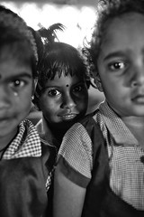The Fountainhead (alisdair jones) Tags: ef35mmf14lusm portrait child girl preschool uniform nainativu sri lanka