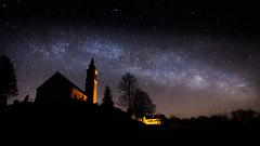 New Moon Milky Way (hjuengst) Tags: newmoon neumond march milkyway alxing night nightshot starlight nightsky bavaria