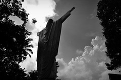The Christ (joelCgarcia) Tags: kamaynihesus lucbanquezon philippines holyweek2017 lent2017 d610 2470mmf28g jesuschrist bw mono blackandwhite