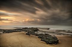 Just Like Heaven (EmeraldImaging) Tags: garie royalnationalpark wattamolla bundeena sydney nsw australia beach rocks moss sunrise seascape sand