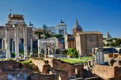 Foro Romano (giannipiras555) Tags: foro roma chiesa panorama